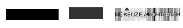 Logo Veiligheid.nl, Atletiek Unie en De KeuzeArchitecten